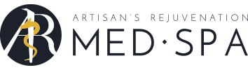 Artisan's Rejuvenation Med Spa Logo Footer In College Station, TX