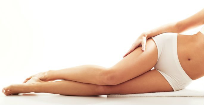 Laser hair removal, smooth legs