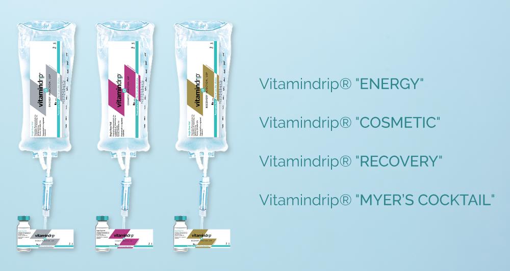 Vitamindrip product line