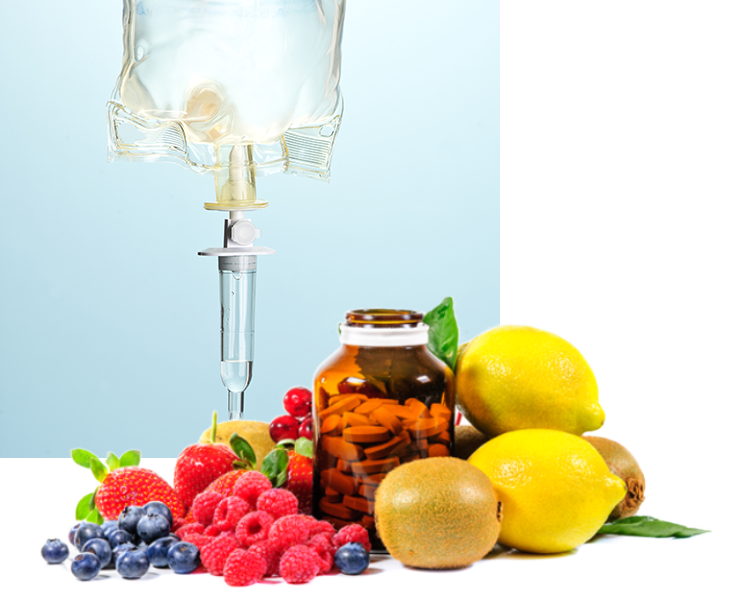 IV therapy gives your body nutrients it needs